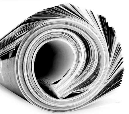 rolled up magazine  Stock Photo - 3416524