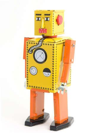 retro robot toy Stock Photo - 3486043
