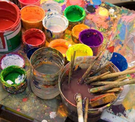 art palette: art studio