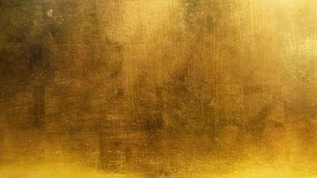 ゴールドの背景 写真素材