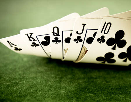 cartas de poker: Escalera Real