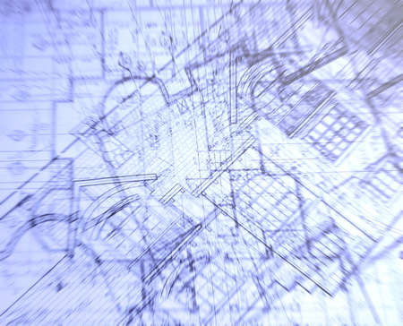 abstract plans layer Stock Photo - 3599512