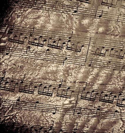 抽象的なシート音楽