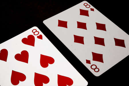 blackjack:  split  eights in blackjack