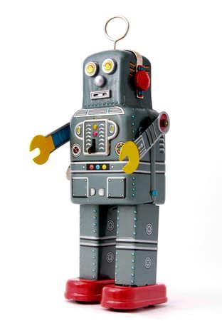 Viejo robot de juguete Foto de archivo - 3733749