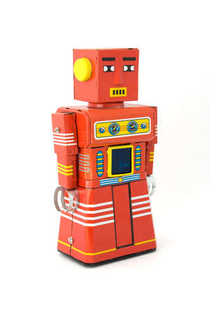 reproductive technology: retro robot toy