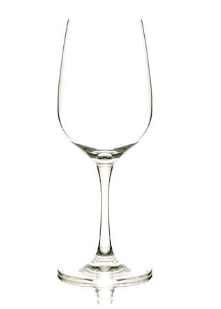 a wine glass  with back lighting  photo