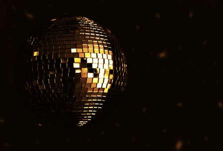 golden disco ball Stock Photo - 3895698