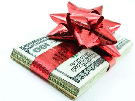 christmas profits: money for Christmas