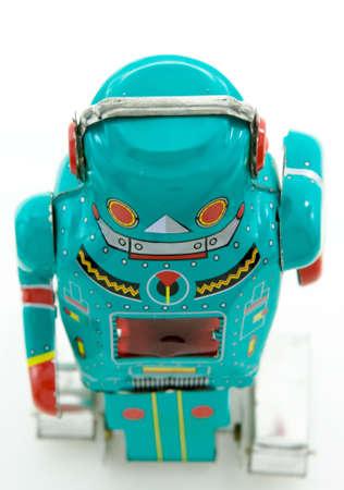 old, retro, robots, toys,  Stock Photo - 4091630