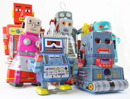 Juguetes robot Foto de archivo - 4121813