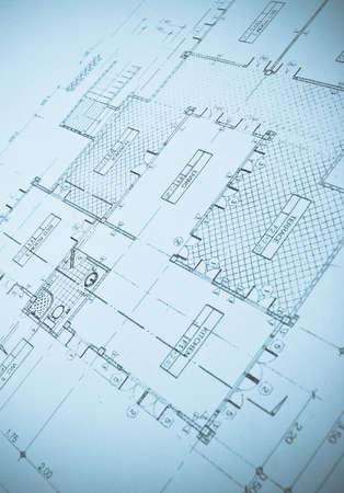 abstract plans Foto de archivo
