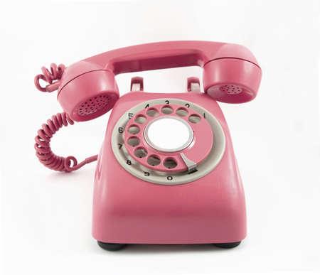 dialplate: retro old red ponne