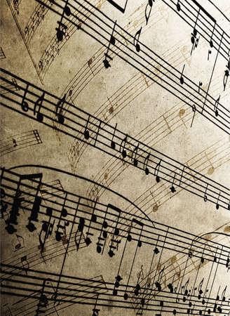 close-up of sheet music Stock Photo - 5132939