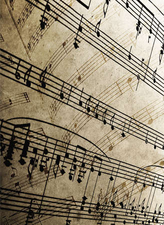 sheetmusic: close-up of sheet music