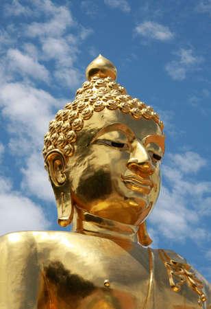 buddah: golden buddah thailand Stock Photo