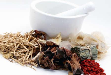 Chinese geneeskunde Stockfoto