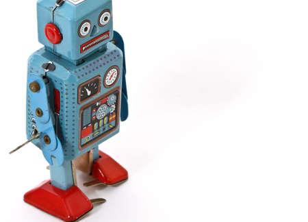 retro roboy toys Stock Photo - 6883688