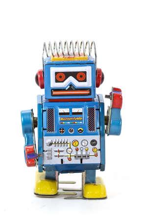 juguetes antiguos: robot de juguete