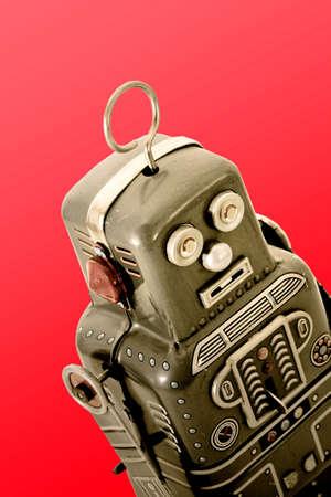 tin: retro robot toy