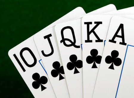 full house in poker  photo