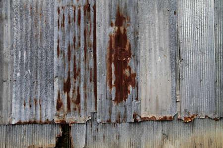 corrosion: corrugated iro background Stock Photo