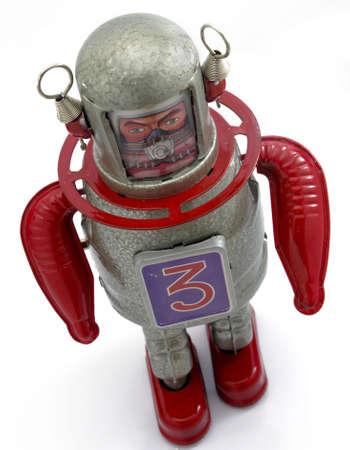 Juguete de robot retro  Foto de archivo - 7789944