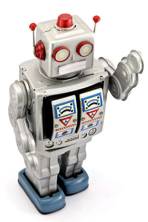 tin robot: robot toy