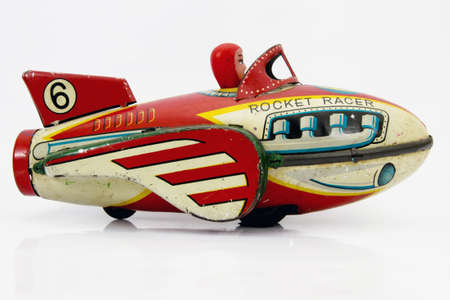 old rocket toy
