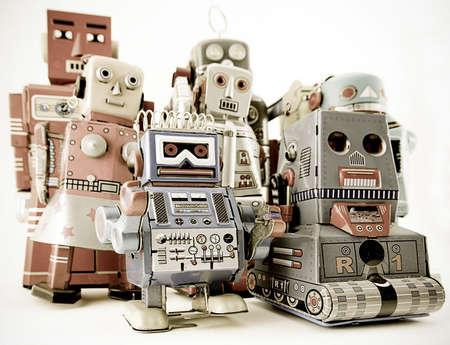 juguetes antiguos: juguetes de robot