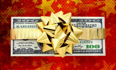 wrapped gift: money as a gift