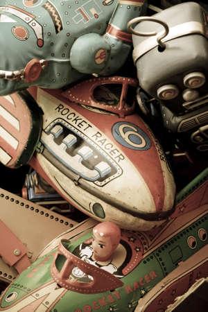 old toys  Banque d'images