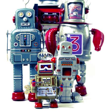 robot team photo