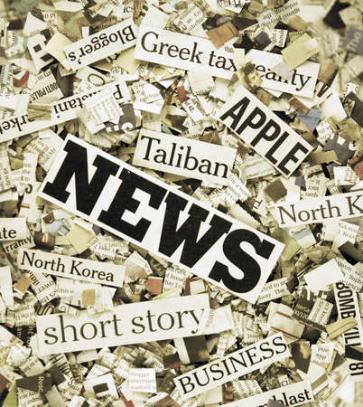 breaking news: the latest news ! Stock Photo