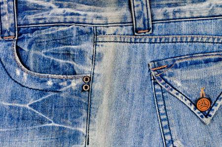 jeans pocket: old jean pocket