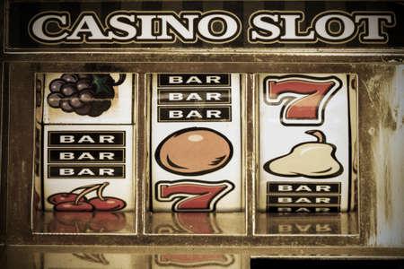 old slot machine