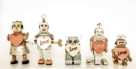 robot in love Imagens