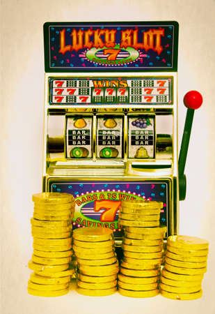 wheel spin: vintage toy slot machine