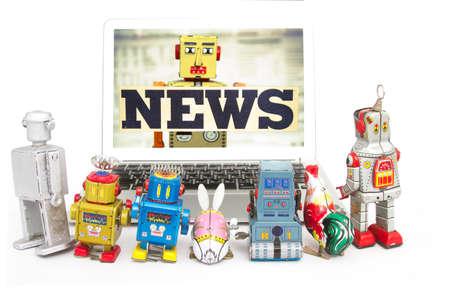 vintage toys robots watch robot NEWS
