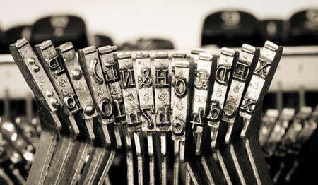 old typewriter typeset