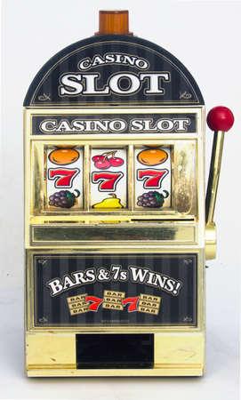 casino slot machine close up  Stockfoto