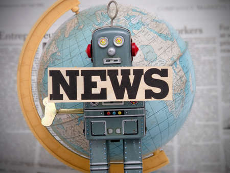 world news  robot close up