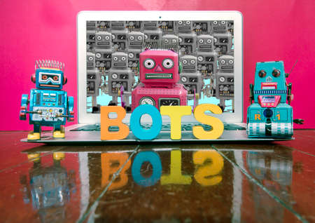the bots are coming to get you  concept image Stock fotó - 94844126