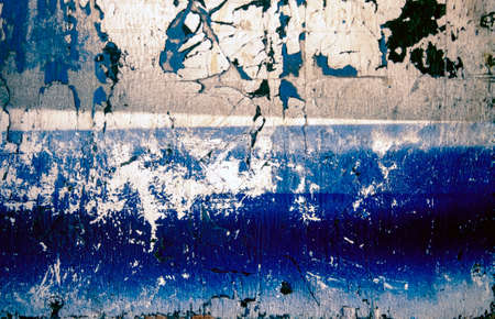old worn wood texture wut flaking blue paint and scratched