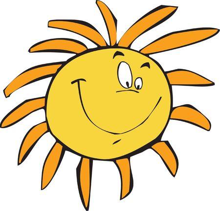 smilling: The Sun smilling