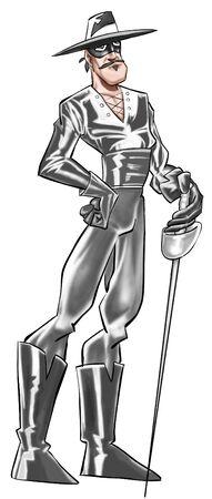 vengador: Zorro la espada y