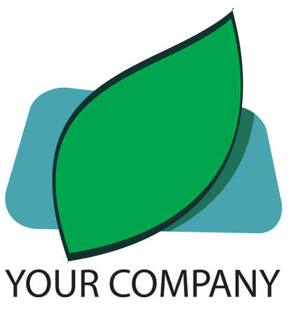 A green leaf logo for your company Stock Photo - 862374