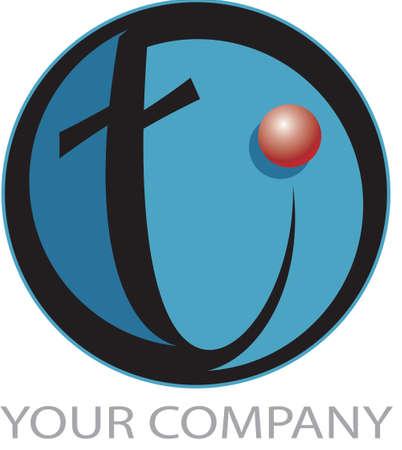 Technology logo T photo
