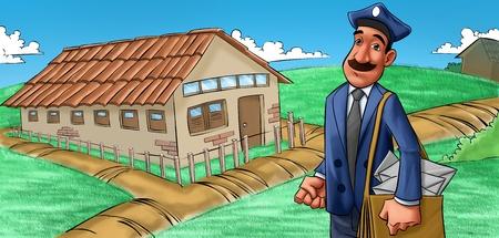 a farm house photo