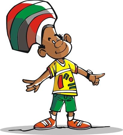 reggae: un ami brésilien, heureux de sa vie.